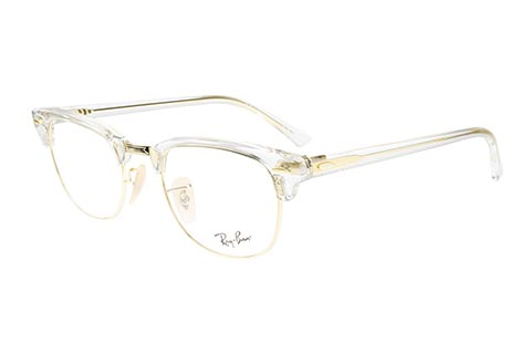 Ray-Ban Clubmaster RX5154 5762 49 Transparent