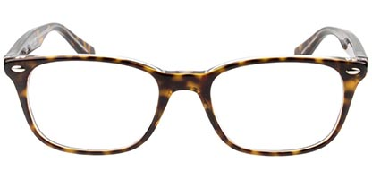 Ray-Ban RX5375 5082 51 Top Havana On Transparent