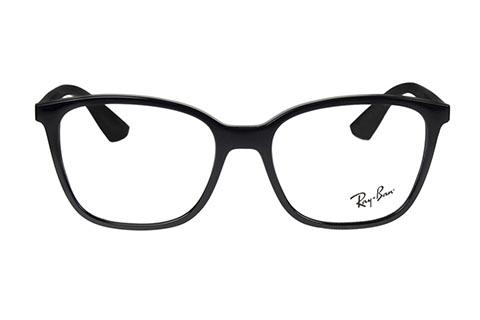Ray-Ban RX7066 2000 52 Shiny Black