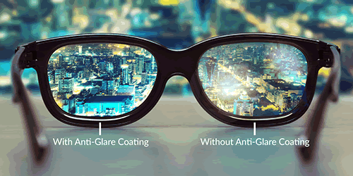 Glasses Lens Options Anti Reflective