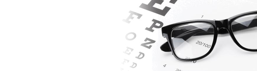 Glasses lens options for vision types