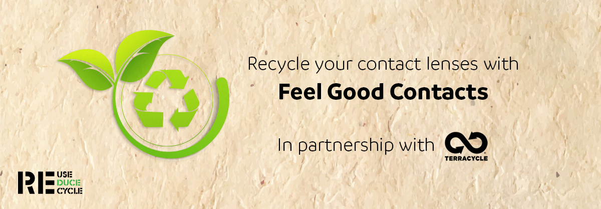 How to recycle your contact lenses