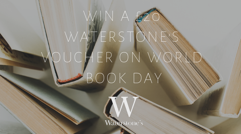 Win A £20(€23) Waterstone's Voucher On World Book Day
