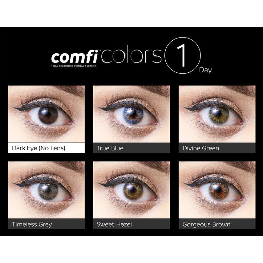 comfi colors 1 day eyes eyes