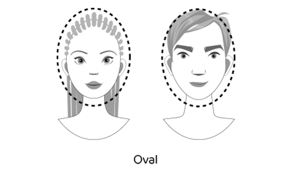 Oval faces