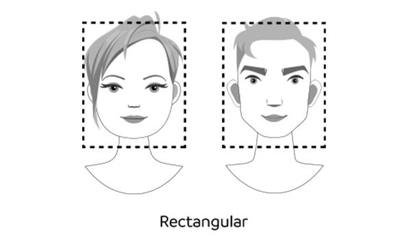 Rectangular faces