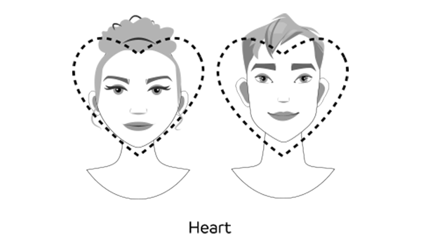 heart faces