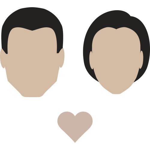 heart shaped face
