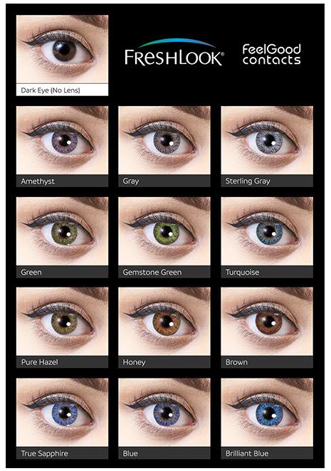 freshlook colorblends eyes