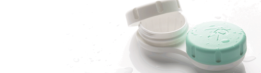 how to clean contact lens case