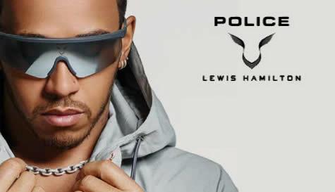 Police X Lewis Hamilton