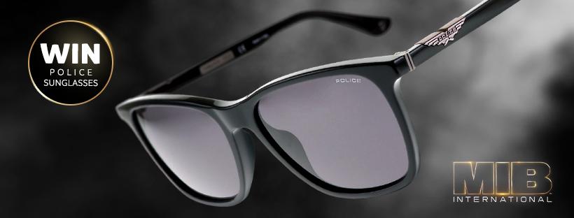 Chance To Win Brand-New Men In Black Sunglasses!