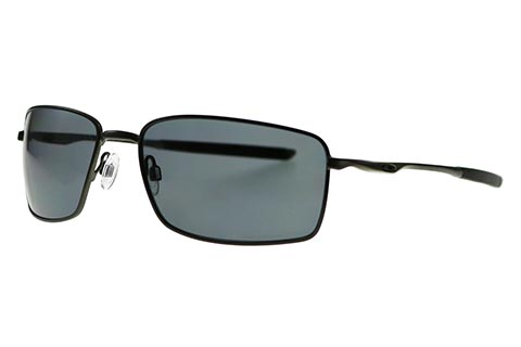 Oakley Square Wire OO4075-04 Carbon Polarised