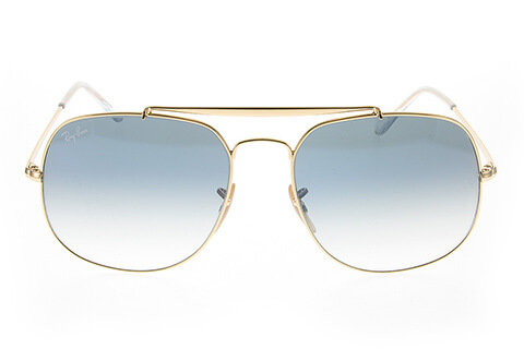 Ray-Ban RB3561 The General Gold Crystal Blue 001/3F57