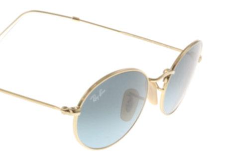Ray-Ban RB3547 Oval Gold 001/3M