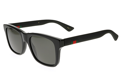 Gucci GG0008S Matte Black 002 Polarised