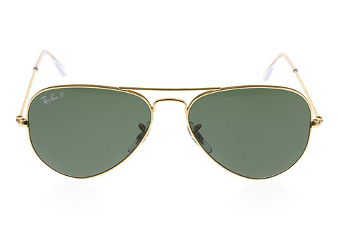 Ray-Ban RB3025 Aviator Gold Green 001/58 Polarised