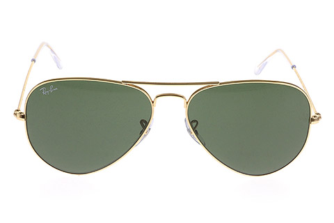Ray-Ban RB3025 Aviator Gold Green L0205/58