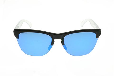 Oakley Frogskins Lite OO9374-0263 Matte Black Prizm Sapphire Iridium
