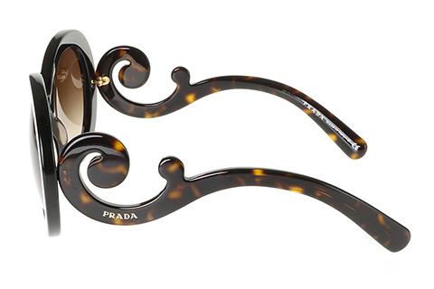 Prada PR 27NS Minimal Baroque Havana 2AU6S1