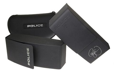 Police SPL891 Origins 4 301P Black and Gold Polarised