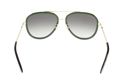 Gucci GG0062S 003 Gold/Green