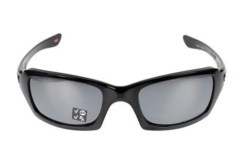 Oakley Fives Squared OO9238-06 Polished Black/ Black Iridium Polarised