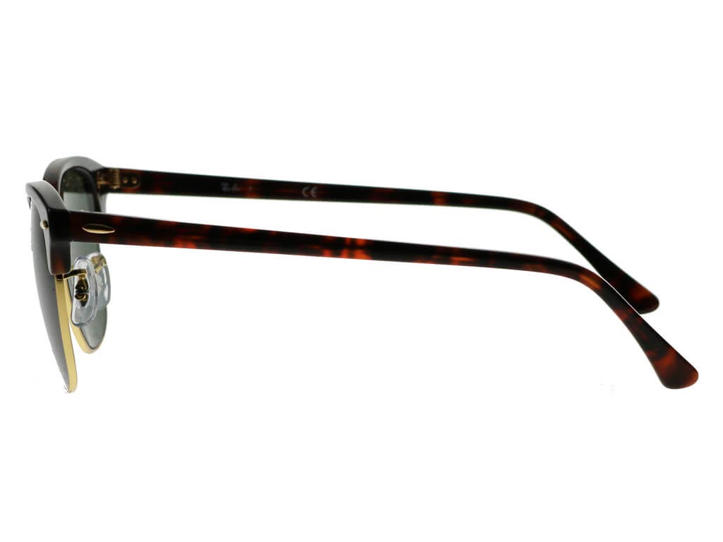 Ray-Ban RB3016 Clubmaster Tortoise Large W0366