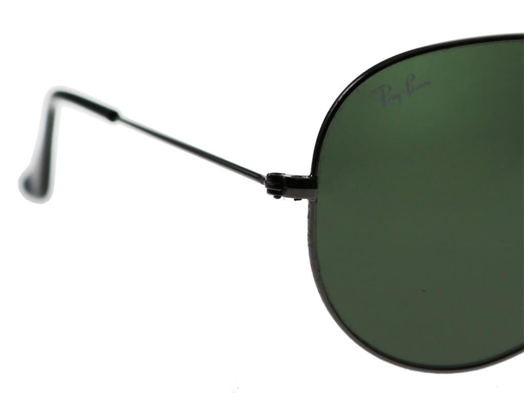 Ray-Ban RB3025 Aviator Gunmetal Green W0879