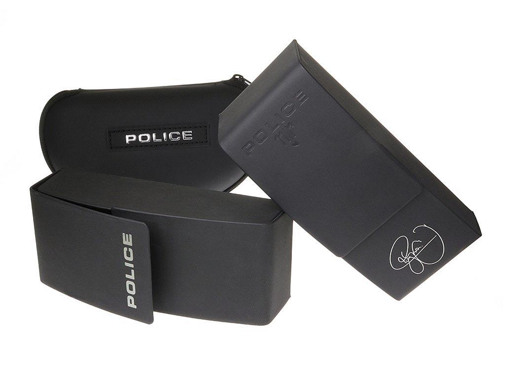 Police SPL872 Origins 1 700P Shiny Black Polarised