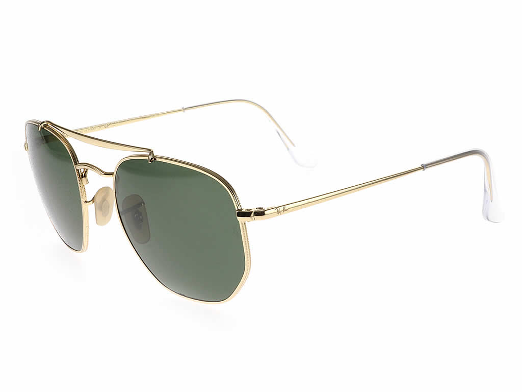 Ray-Ban RB3648 The Marshal Gold Green 001