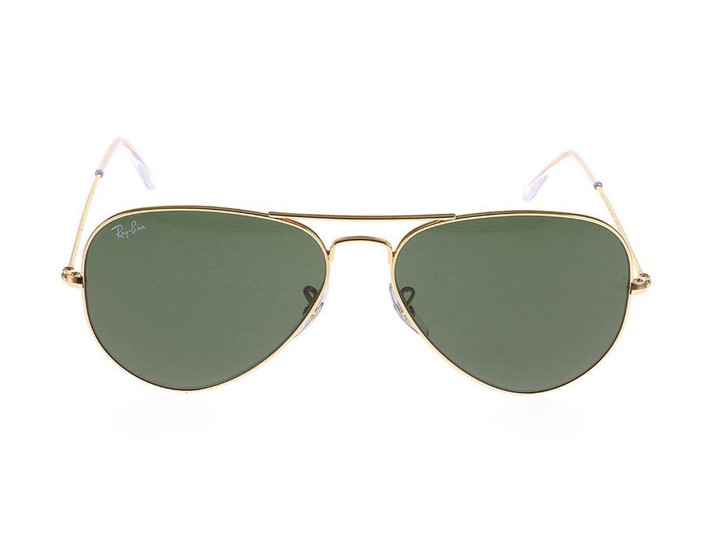 Ray-Ban RB3025 Aviator Gold Green W3234/55