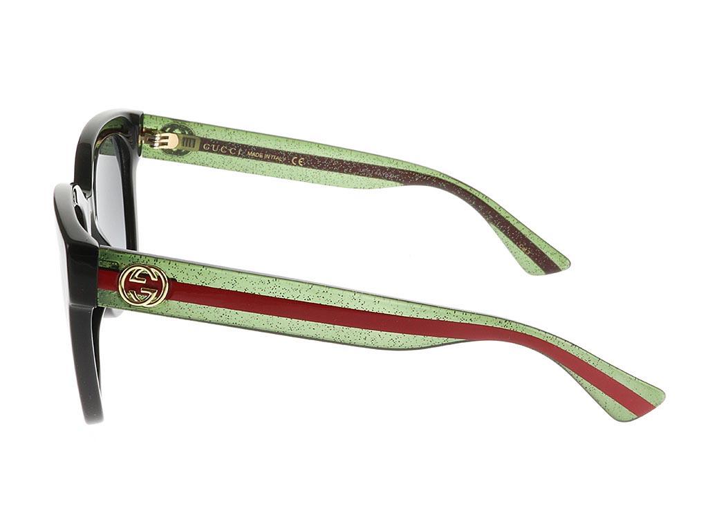 Gucci GG0034S Black Green 002