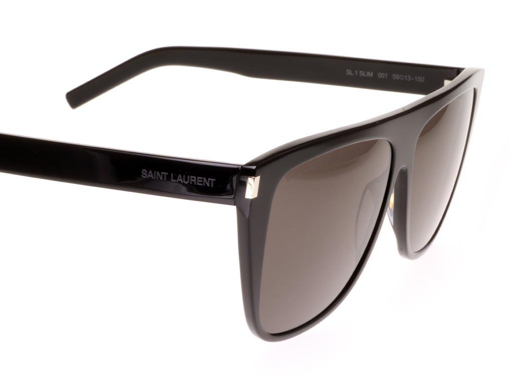 Saint Laurent SL 1 SLIM 001 Black