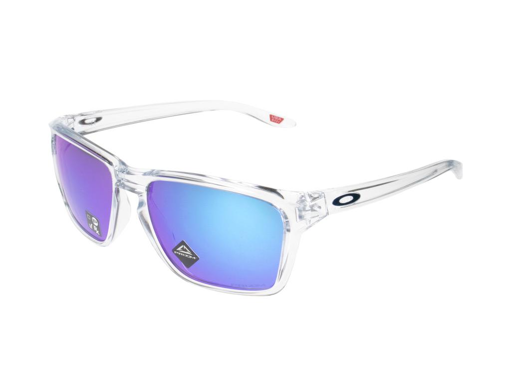 Oakley Sylas OO9448-04 Polished Clear Prizm Sapphire
