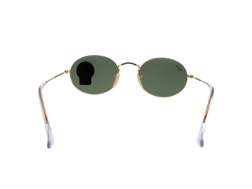Ray-Ban RB3547 Oval Gold 001/31