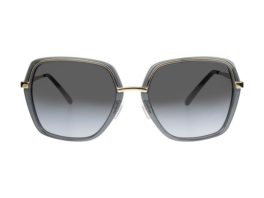 Michael Kors Naples MK1075 10148G Light Gold/Black Transparent