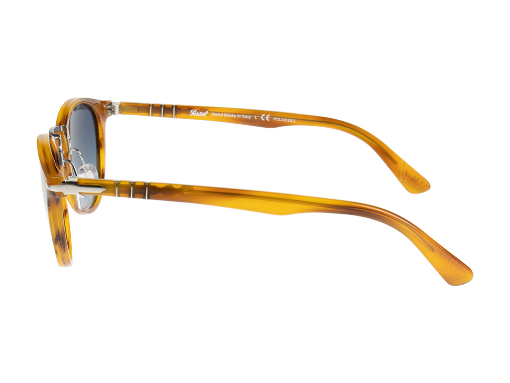 Persol Typewriter Edition PO3108S 960/S3 Striped Brown Polarised