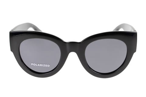 Le Specs Matriarch Black Polarised