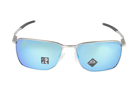 Oakley Ejector OO4142-04 Satin Chrome Prizm Sapphire