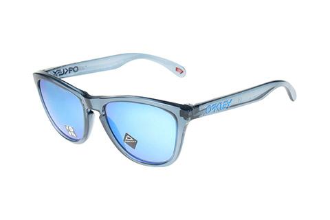 Oakley Frogskins OO9013-F6 Crystal Black Prizm Sapphire Polarised