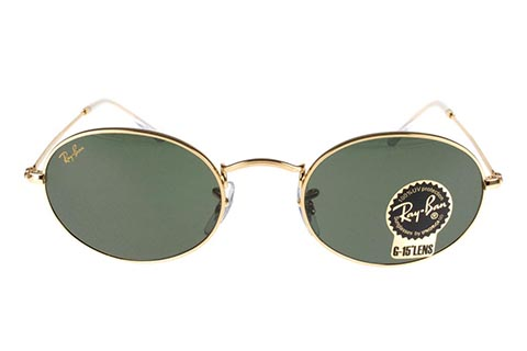Ray-Ban Oval Legend Gold RB3547 9196/31 51 Gold