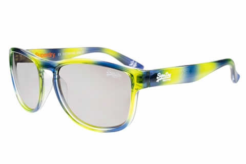 Superdry SDS Rockstar 107 Striped Blue/Green Crystal