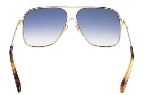 Victoria Beckham VB132S 706 Gold/Teal
