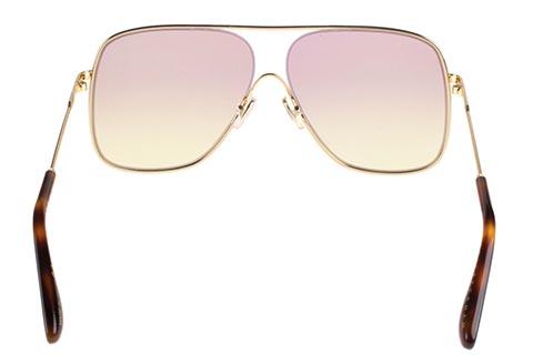 Victoria Beckham VB132S 707 Gold/Pink Yellow